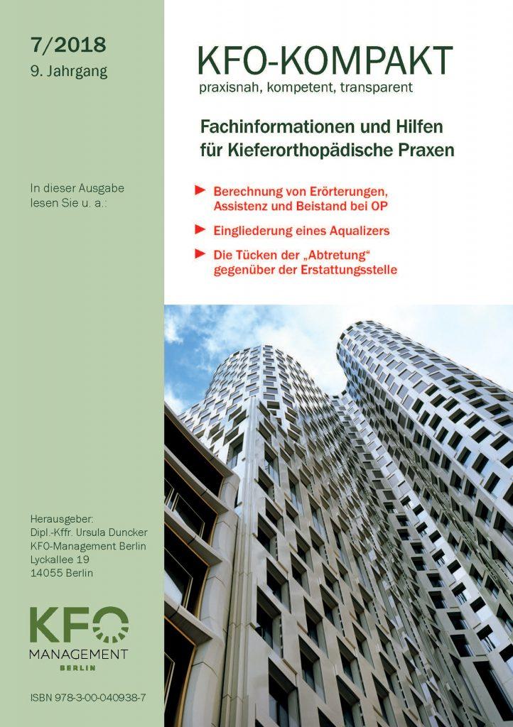 kfo kompakt 7 2018 kfo management berlin. Black Bedroom Furniture Sets. Home Design Ideas